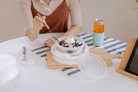 한통, 가정 배달 맞춤형 일회용 포장용기 '한통뚝배기' 출시