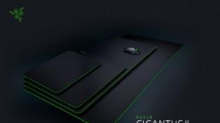 레이저, 3XL 사이즈까지 제공되는 게이밍 마우스패드 RAZER GIGANTUS V2 시리즈 출시